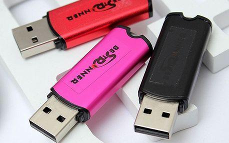 16GB USB flashdisk ve 3 barvách