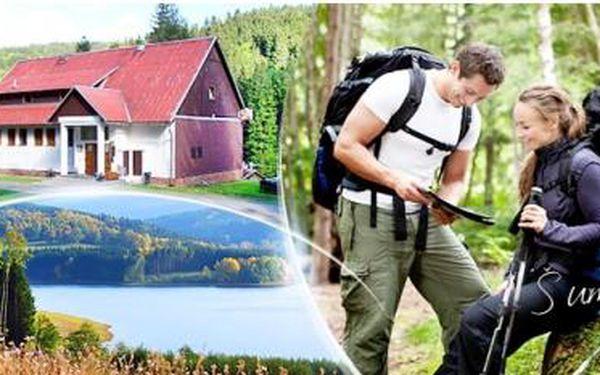 Šumava, Chata Na Papírně až na 5 dní pobyt pro 2 os. i pro celou rodinu + polopenze a možnost víkendových hodů.