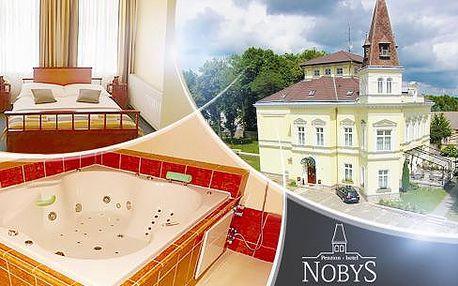 Jižní Čechy, Hotel Nobys - 2 až 4 dny pro 2 osoby či rodinu + polopenze, wellness, tenis a další!