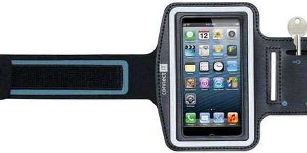 Pouzdro na mobil sportovní Connect IT M4 pro iPhone 5 (CI-212) černé