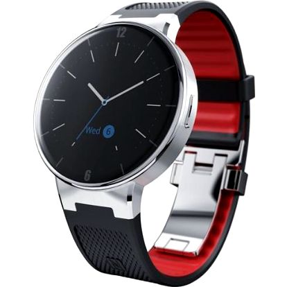 ALCATEL SM02 SmartWatch (SM02-2AALXE5 BLACK)
