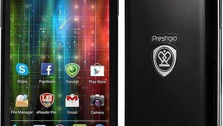 Prestigio MultiPhone PAP5400 Duo (PAP5400DUO) černý + Doprava zdarma