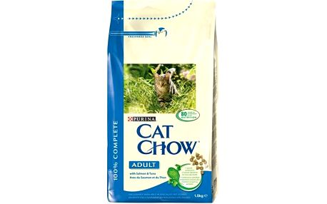 Purina Cat Chow Adult Salmon&Tuna 1,5 kg