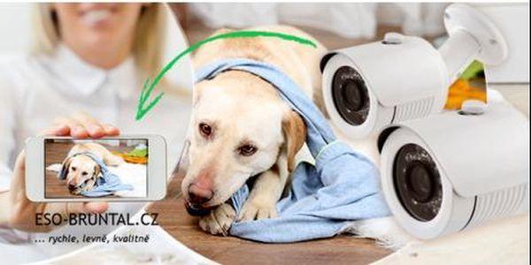 IP síťová kamera s HD rozlišením! Získejte díky propojení s mob. telefonem neustálý přehled o chování svého mazlíčka.
