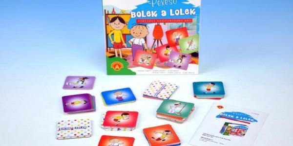 AKCE Pexeso Bolek a Lolek společenská hra 40ks v krabičce