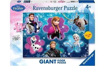Ravensburger Puzzle Frozen 24 dílků podlahové puzzle
