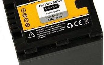 Patona baterie pro Panasonic VW-VBN390 3300mAh Li-Ion - PT1122