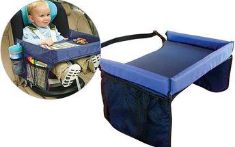 Dětský stoleček nejen do auta - Vaše dítě bude mít vše po ruce.