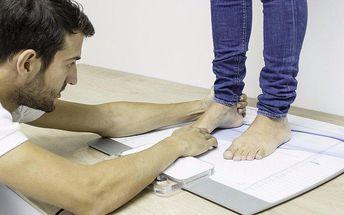 Statická analýza chodidel pro lehký a zdravý krok
