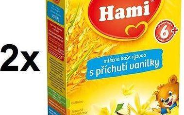 Hami rýžová vanilková 6M, 225g x 2ks