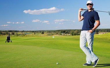 Na greenu jako doma: Prázdninový golfový kurz