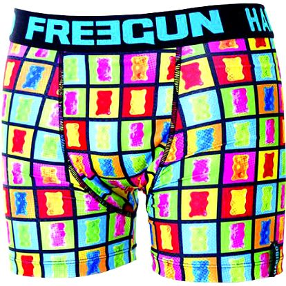 Freegun Chlapecké boxerky Haribo, Oursons, vícebarevné, 128 cm