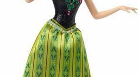 MATTEL Frozen zpívající princezna Anna