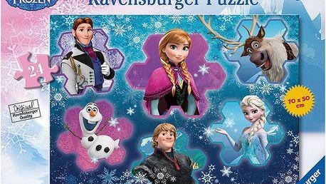 Ravensburger Puzzle Frozen 24d podlahové puzzle