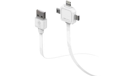 PowerCube PWC-USB-CABLE miniUSB, microUSB, Apple lightning