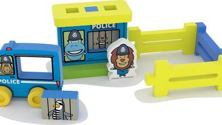 Millaminis Stavebnice Malá policejní stanice