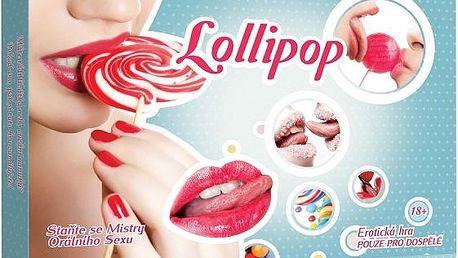 Skvělá erotická hra pro páry Lollipop - orální po...