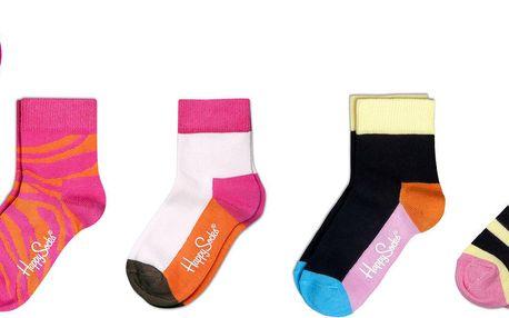 Happy Socks Sada ponožek vel.15/18, 4 kusy