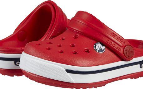 Crocs Dětské sandály Crocband II - červené, EUR 33-34