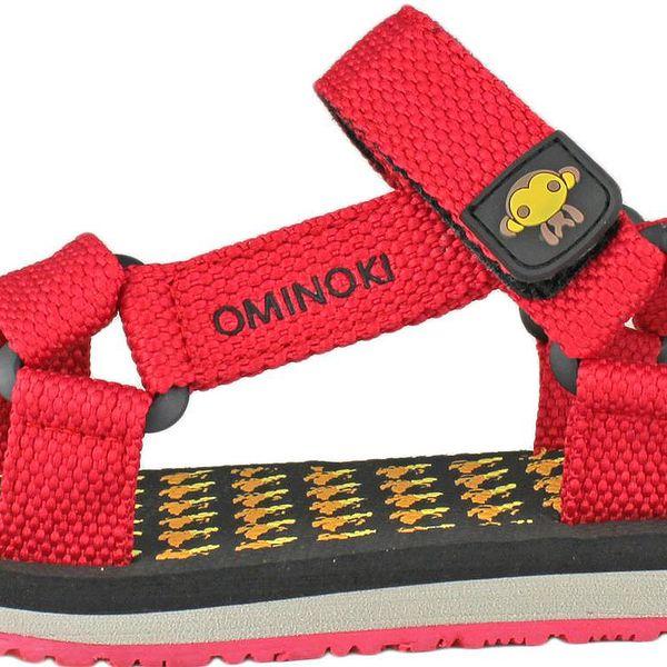 Ominoki Dívčí sandály - červené, EUR 30