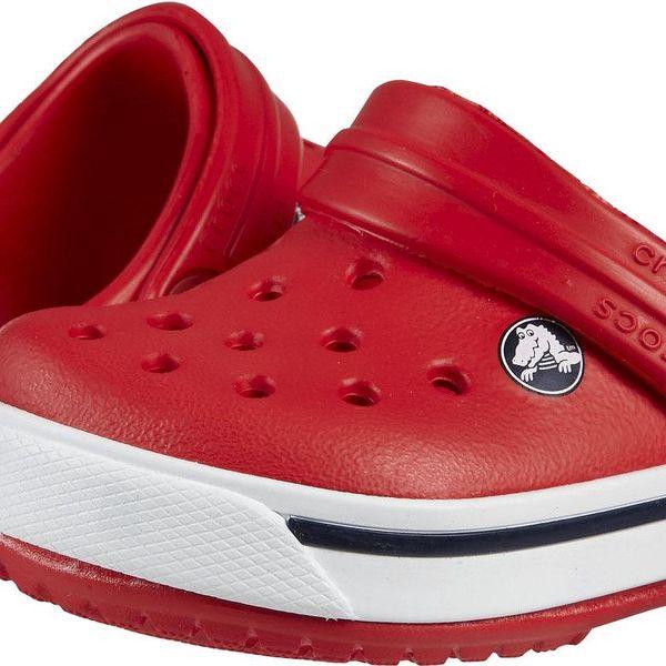 Crocs Dětské sandály Crocband II - červené, EUR 34-35