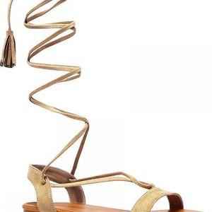 Dámské hnědé sandály Agatha 1041
