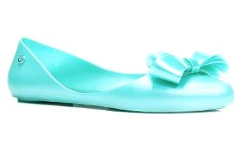 Dámské modré baleríny Pamela 075