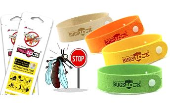 Repelentní náramek Bugs Lock proti komárům - 5 nebo 10 ks v balení. Poštovné zdarma.