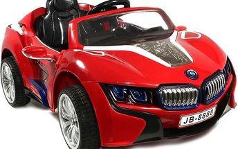 Dětské autíčko TOBI na dálkové ovládání, MP4 přehrávač a další
