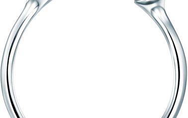 Perlový prsten Perle, stříbrný s bílou perlou, vel. 52