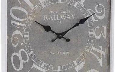 Nástěnné hodiny ANTIK 30 x 39 cm KING'S CROSS