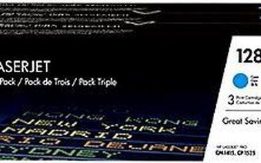 HP CF371AM black č. 128A multipack