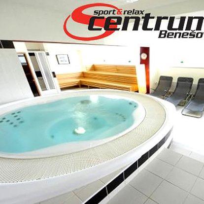 3denní relaxační pobyt ve Sport & Relax centrum Hotelu s polopenzí, venkovním bazénem, fitness..