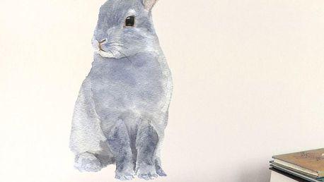 Znovu snímatelná samolepka Bunny, 30x21 cm