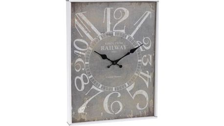 Koopman 35641 Nástěnné hodiny ANTIK 30 x 39 cm KING'S CROSS