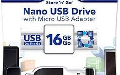Verbatim Store 'n' Stay Nano 16GB černý