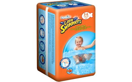 Huggies plenky Little Swimmers 12 - 18 kg/11ks