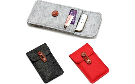 Pouzdro na mobil s kapsičkou