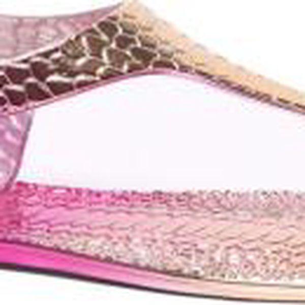 Dámské růžové sandály Honory 085