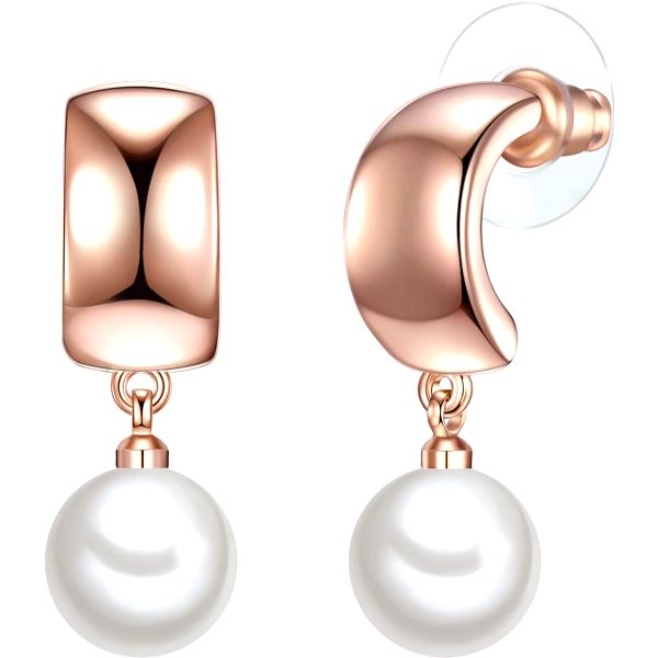 Perlové náušnice Vua, perla 10 mm