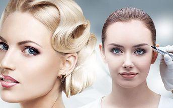 Permanentní make up - horní i dolní oční linky, kontury rtů s výplní či bez, 3D vláskování obočí!