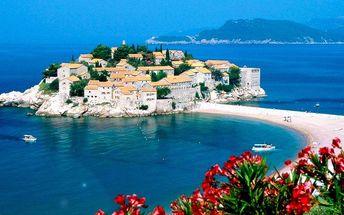 Za krásami Černé Hory vč. dopravy a polopenze
