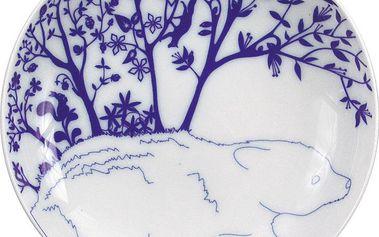 Sada 2 dezertních talířů Bear In Mountain