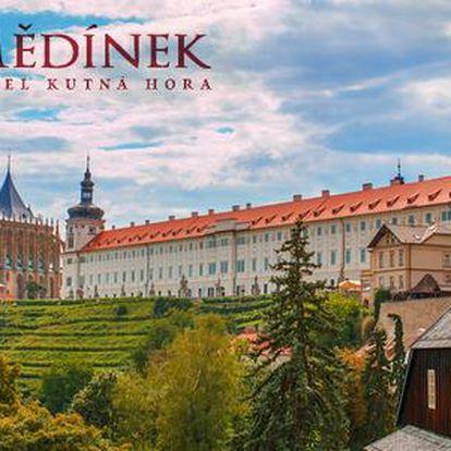 Krásy a historie Kutné Hory v hotelu Mědínek***
