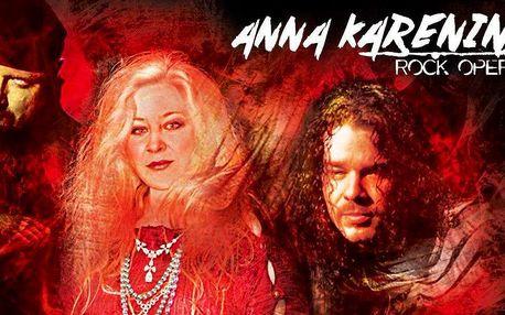 Vstupné na rockovou operu Anna Karenina
