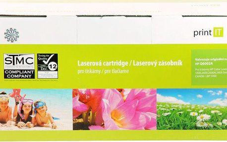 Print IT Q6002A, žlutý (PI-12)