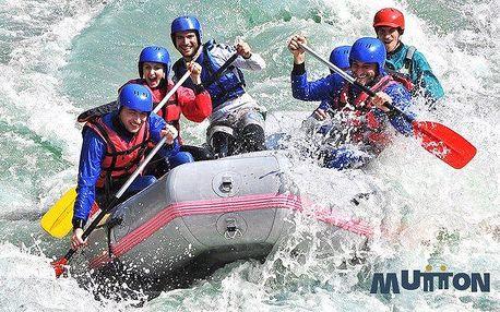 Rafting s instruktorem na Slovensku pro 1 osobu včetně videa a fotek