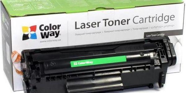 ColorWay kompatibilní toner pro SAMSUNG CLT-C406S / modrý / 1 000 stran (CW-S406CEU) + čistící útěrky ZDARMA