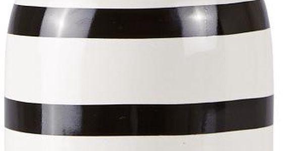 Dávkovač mýdla Galzone, bílá a černá