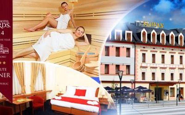 Jeseníky, Hotel Slovan**** na 3 dny pro 2 osoby včetně polopenze + privátní sauna nebo degustační menu!